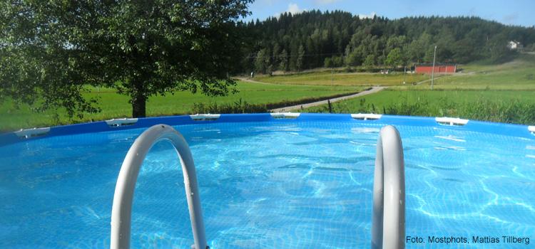 köpa vatten till pool